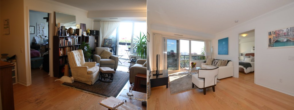 Staging: Before and After